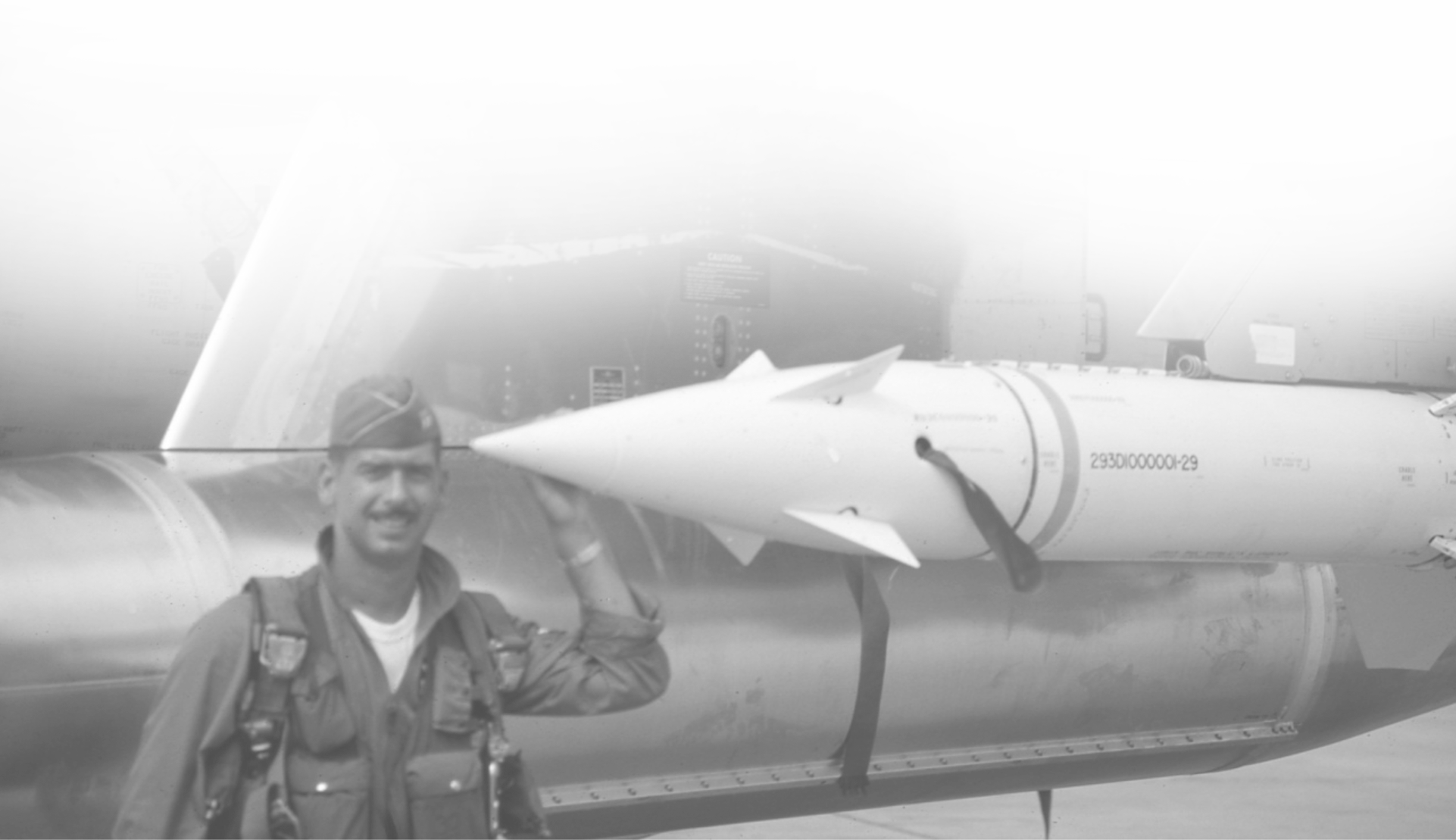 archival photo airmen missle