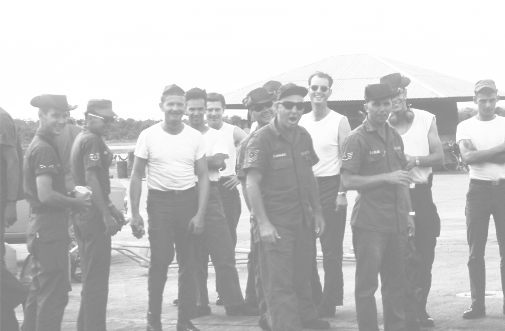 archival photo airmen