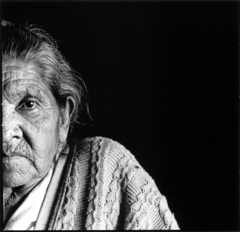Mexico - farm worker woman close