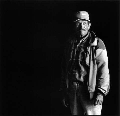 Mexico - farm worker man standing