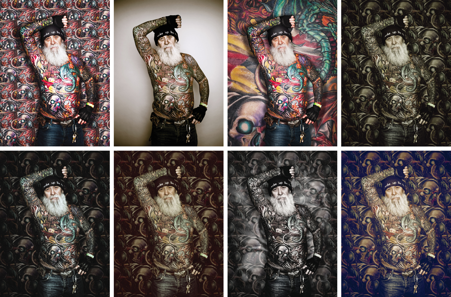 Tattoo - various backgrounds