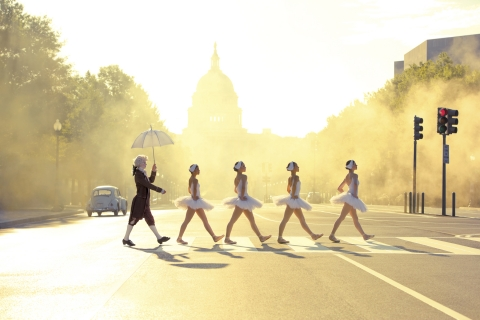 Ballet Beatles Abbey Road Style
