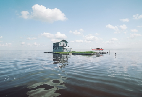 Bayou - seaplane