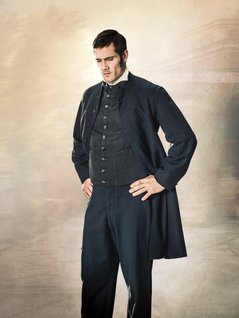 Mercy Street - Chaplain Hopkins, Luke Mcfarlane