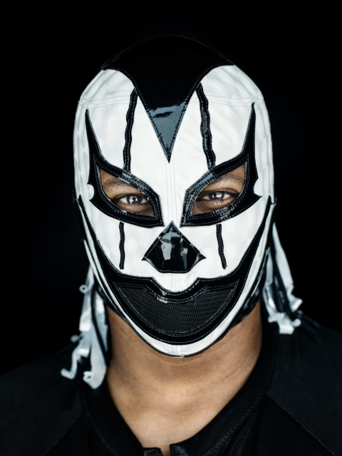 Lucha Libre - White & Black