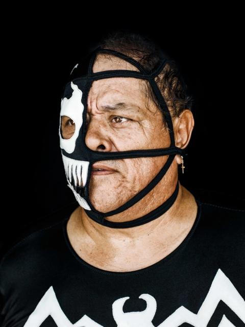 Lucha Libre - Half Skull