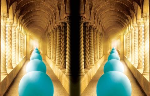 Neenah - balls & columns