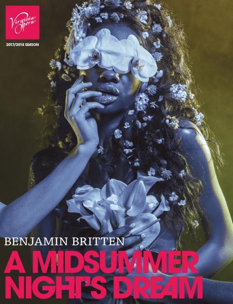 VA Opera - Midsummer poster
