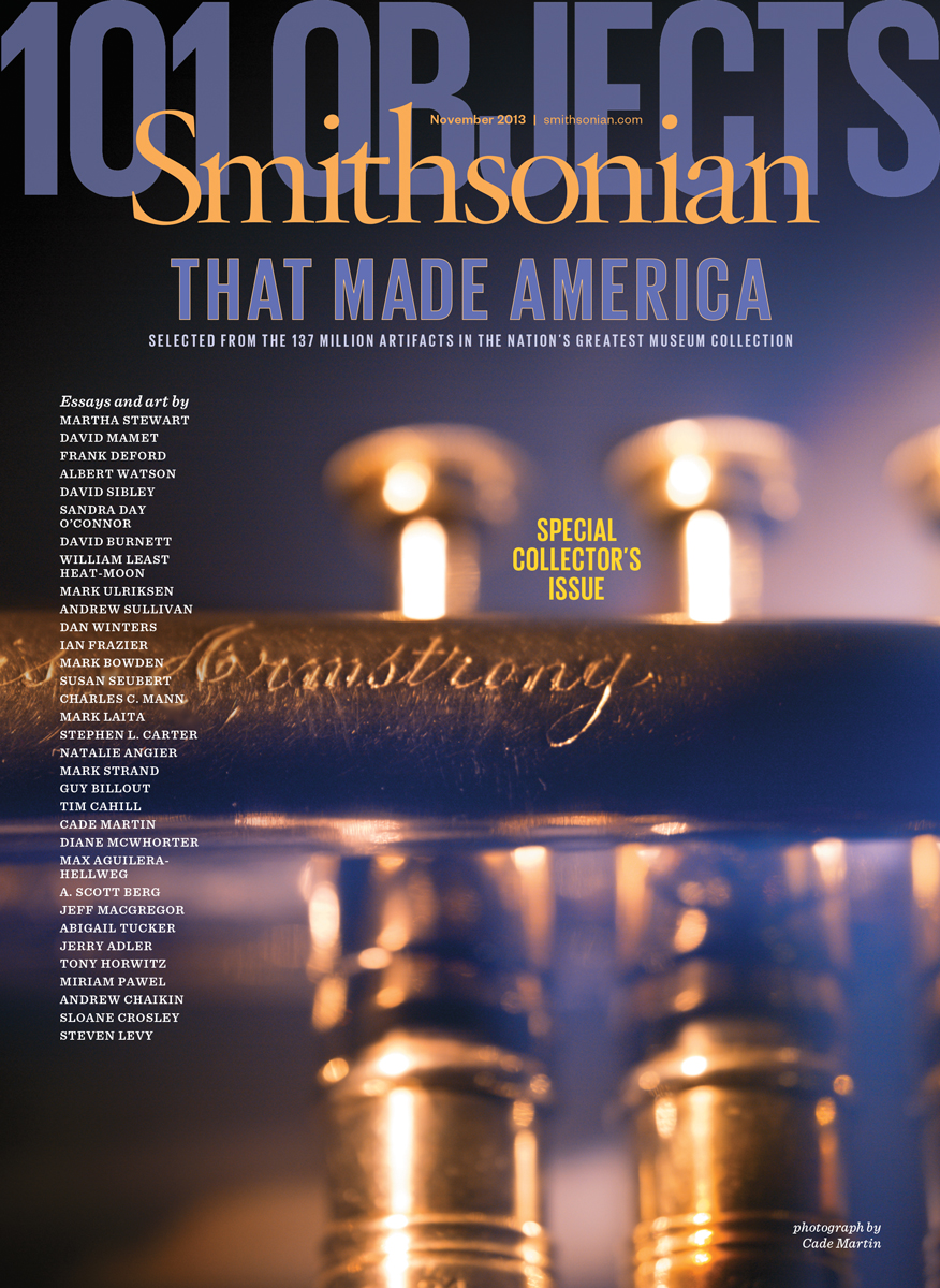 Smithsonian Magazine - Louis Armstrongs Trumpet cover
