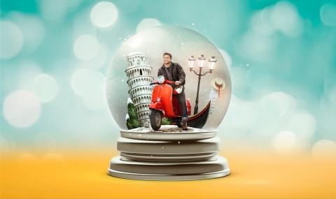 Snow Globe - Italy