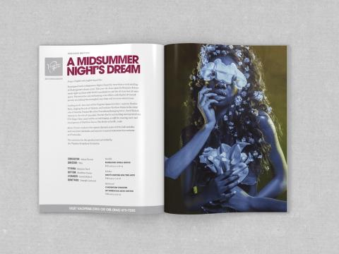 VA Opera - Midsummer mag spread