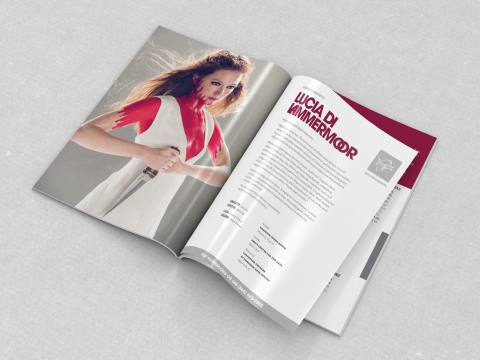VA Opera - Lucia mag spread