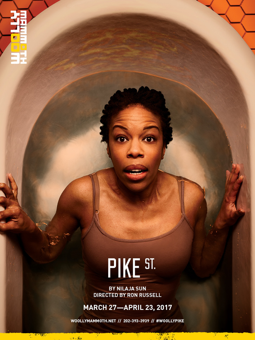 Woolly Mammoth Theatre - Pike St. poster