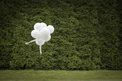 Ballet Balloons by Cade Martin