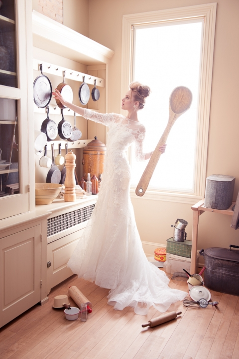 Washingtonian Bride & Groom - All Dolled Up - spoon