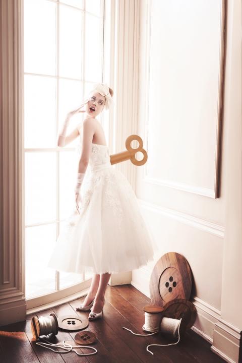 Washingtonian Bride & Groom - All Dolled Up - windup