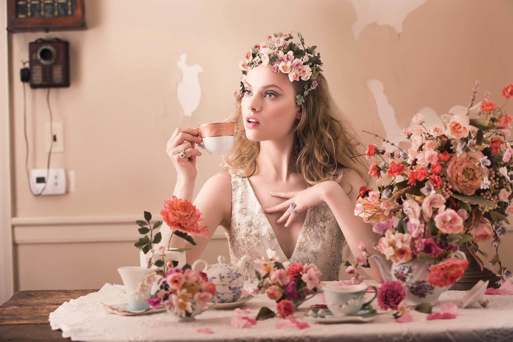 Washingtonian Bride & Groom - All Dolled Up - tea