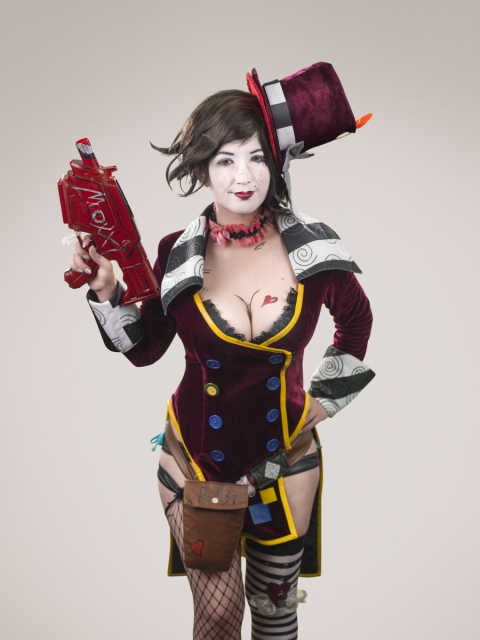Comic Con - Borderlands Jackie Casidy