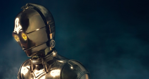 C3PO: Face Turned Away